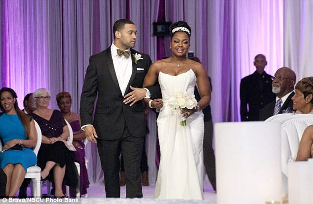Looks like the divorce of Phaedra and Apollo will be just as public as the wedding.