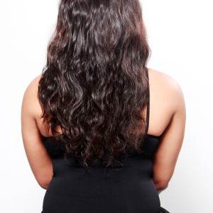Oshun Wave Virgin Peruvian Hair Extensions Back