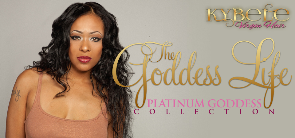 Kybele Virgin Hair Goddess Trends Platinum Collection Banner