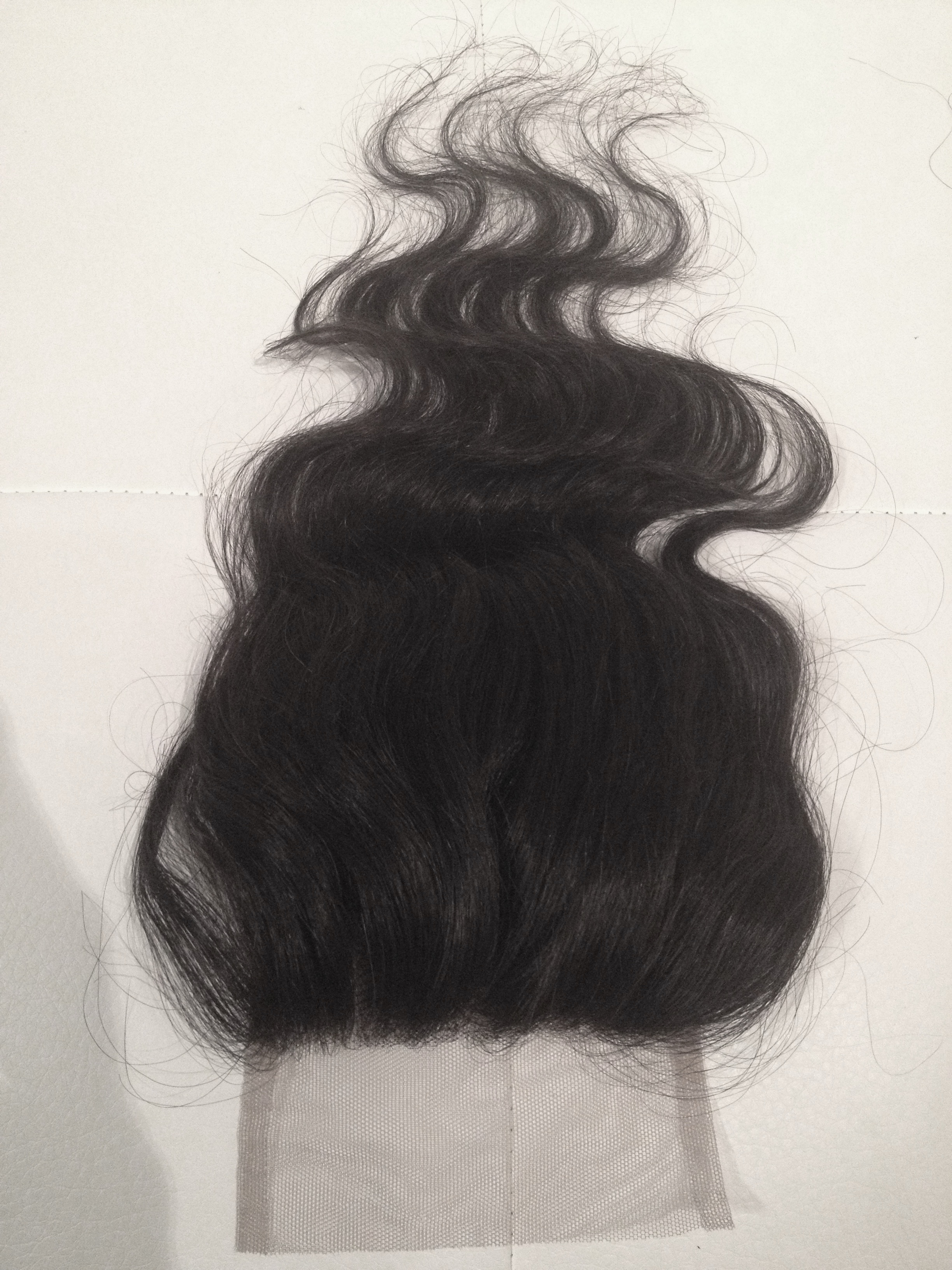 3 Way Part Lace Closure Image 2 from Kybele Virgin Hair