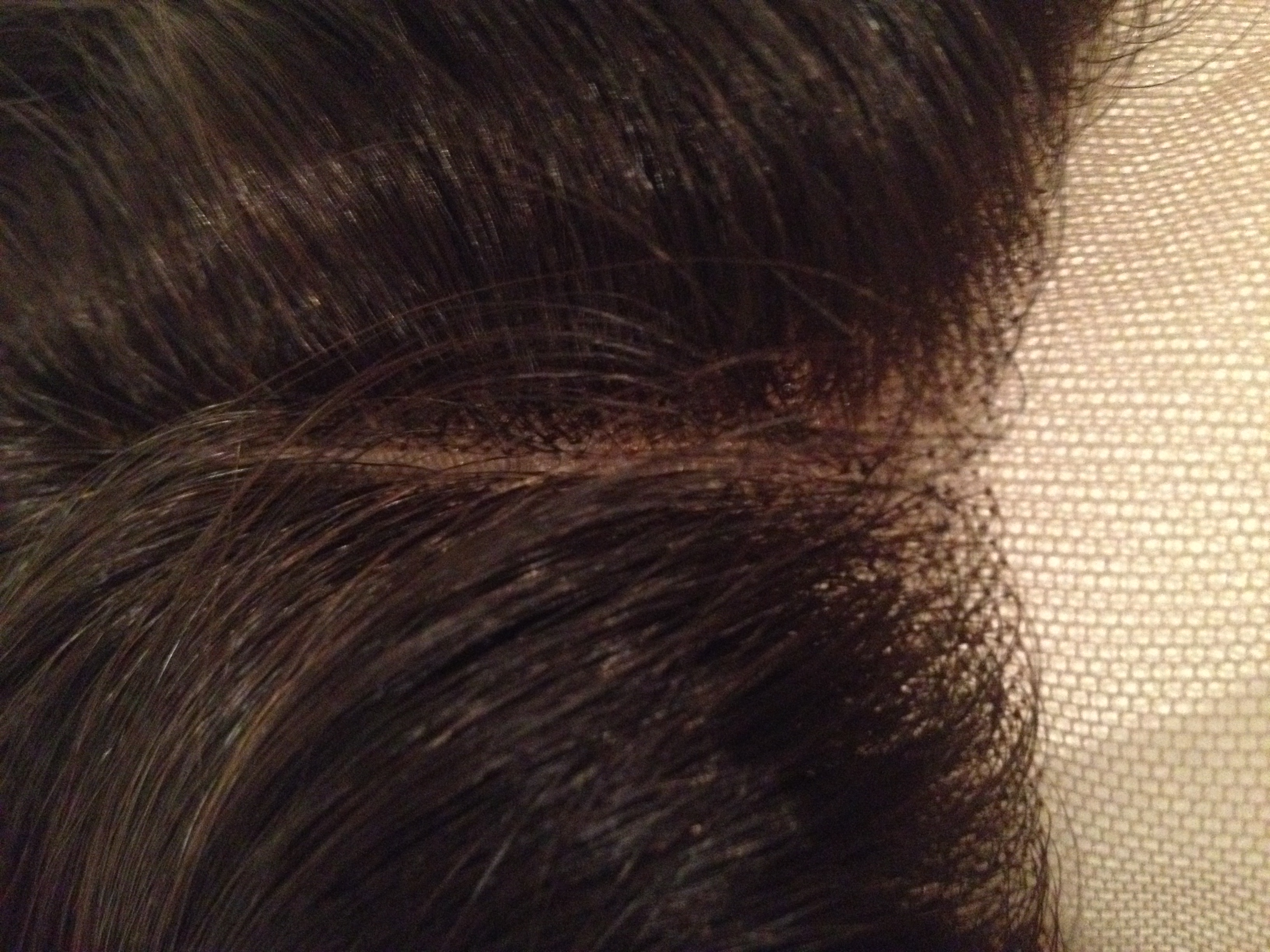 3 Way Part Lace Closure Close Up from Kybele Virgin Hair