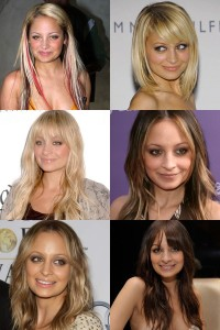 Nicole Richie's Various Hair Extensions