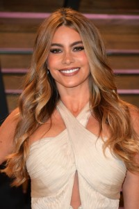 Celebrity Styles for Long Hair Weaves: Sofia Vergara Wearing Big, Loose Curls.