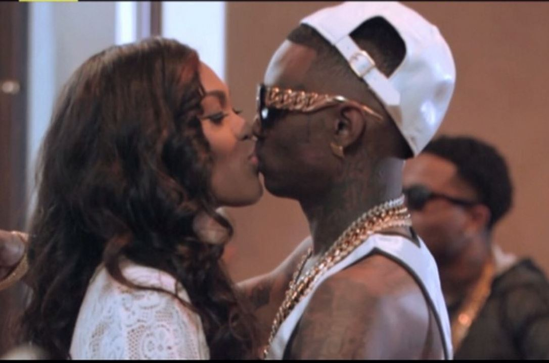 Nia and Soulja Boy go through it on their new reality TV show. Nia does her best to keep the star from cheating on her.