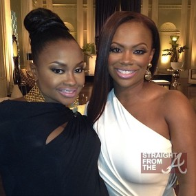 Virgin Hair Extensions: Phaedra Parks Kandi Burruss RHOA