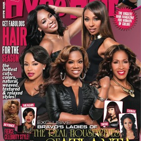 Real Housewives of Atlanta on Cover of HYPE Hair