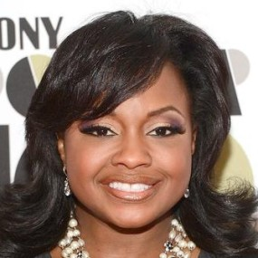Phaedra Parks Wearing Hair Flipped Up