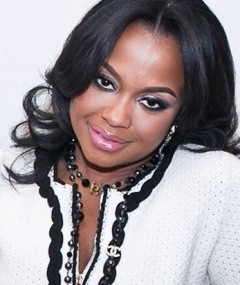 Phaedra Wearing Her Virgin Hair Weave Parted Down Middle