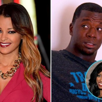 Claudia Jordan, Porsha Williams, Kordell Stewart of RHOA