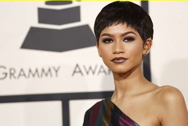 She was just at the 2015 Grammy Awards, sporting a bowl cut.