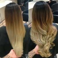 Lighten Up Your Hair Color and Weave Color this Spring with Balayage Ombre Highlights