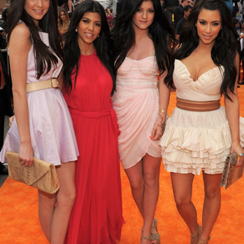 Kim Kardashian is known for wearing virgin hair extensions. So, we just assume the entire Kardashian Clan sports hair weaves.